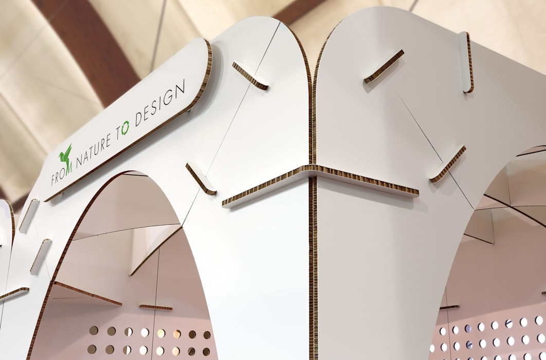 Gothìk Collection Origami Furniture Centros de exhibiciones