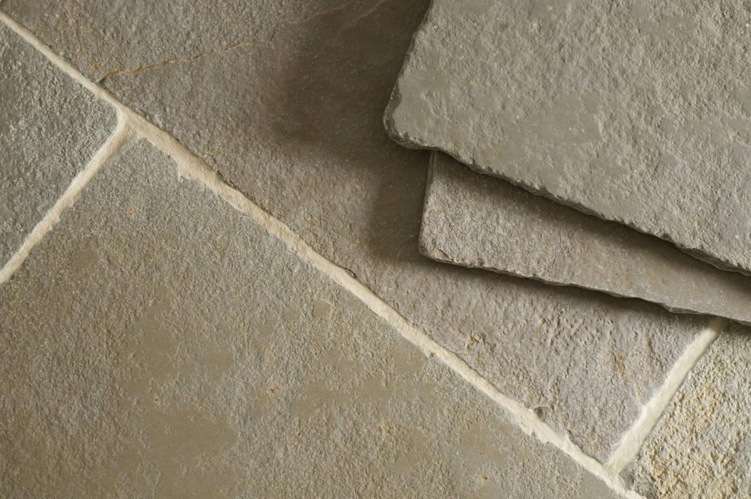 Umbrian Limestone:  Kitchen by Floors of Stone Ltd,