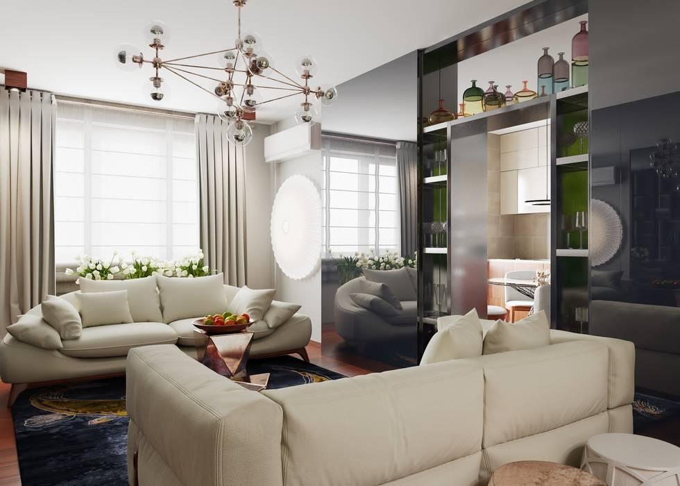 Moderne Wohnzimmer von FEDOROVICH Interior Modern