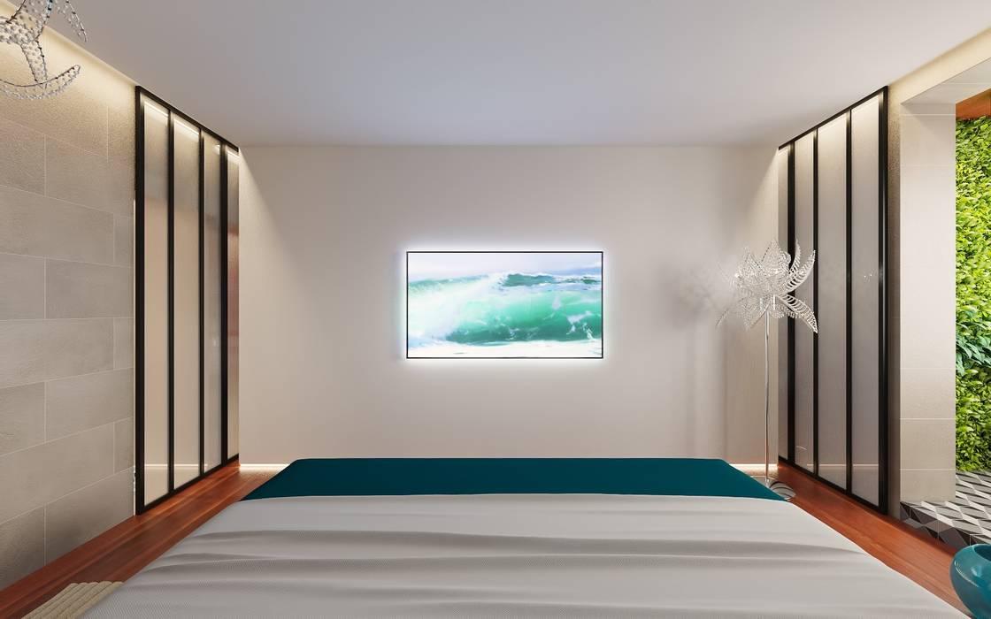 Спальня Спальня в тропическом стиле от FEDOROVICH Interior Тропический