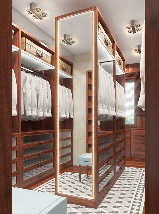 Koloniale Ankleidezimmer von FEDOROVICH Interior Kolonial