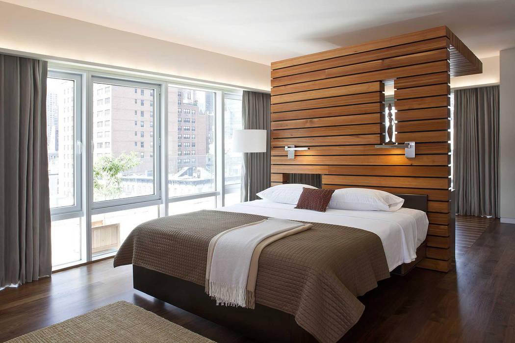 Master bedroom: modern  by Eisner Design, Modern