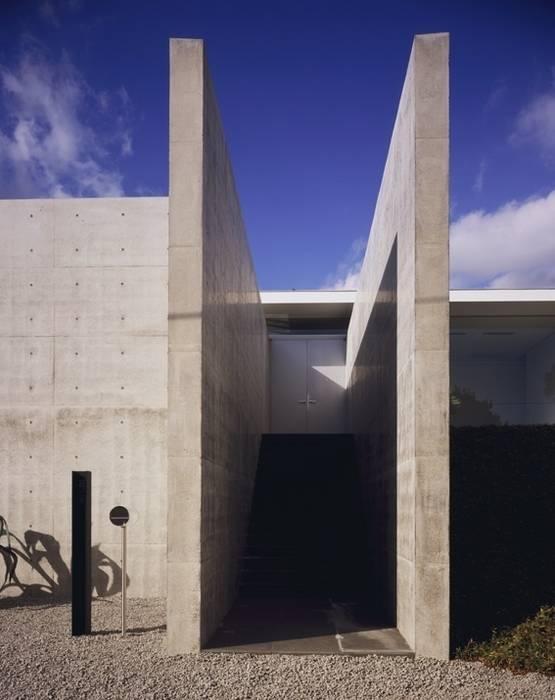 伊豆高原の家 モダンスタイルの 玄関&廊下&階段 の 水谷壮市 モダン