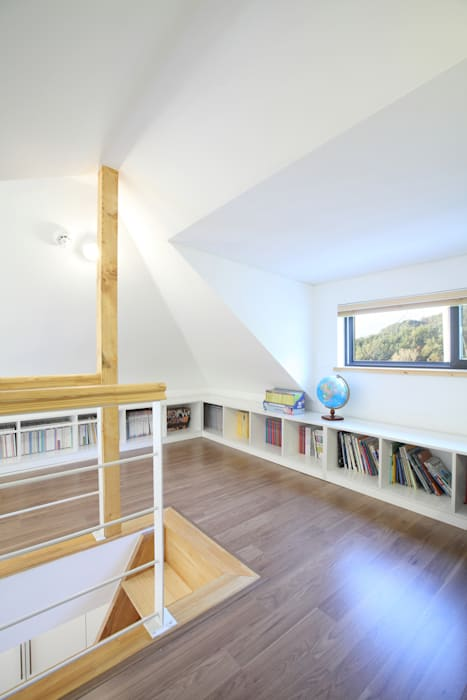 Bedroom by 주택설계전문 디자인그룹 홈스타일토토, Modern