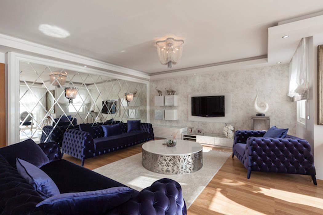 Living room by Mimoza Mimarlık,