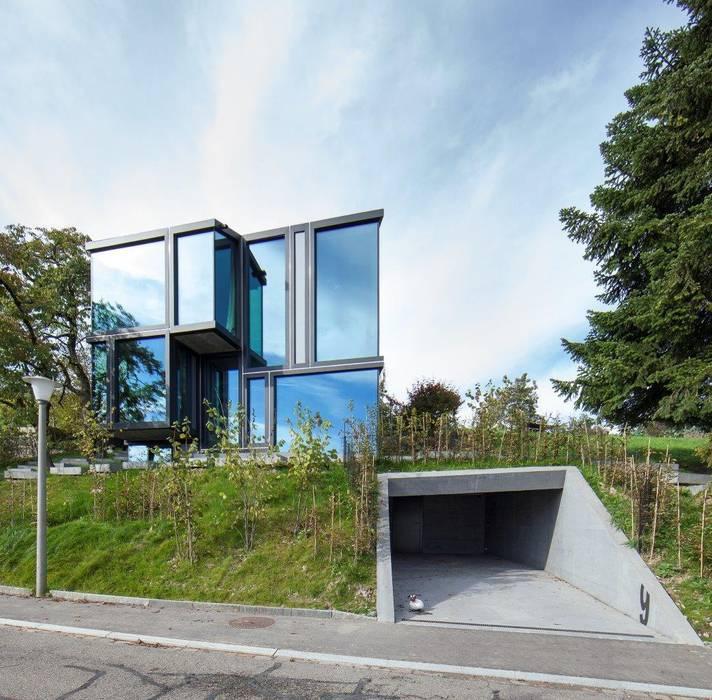 Maisons modernes par L3P Architekten ETH FH SIA AG Moderne