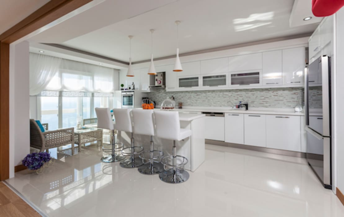 Nhà bếp theo Mimoza Mimarlık, Hiện đại