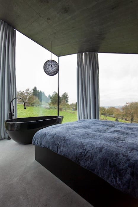L3P Architekten ETH FH SIA AG Modern style bedroom