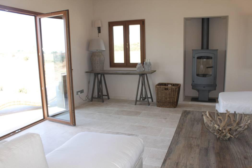 Wohnzimmer von Floors of Stone Ltd