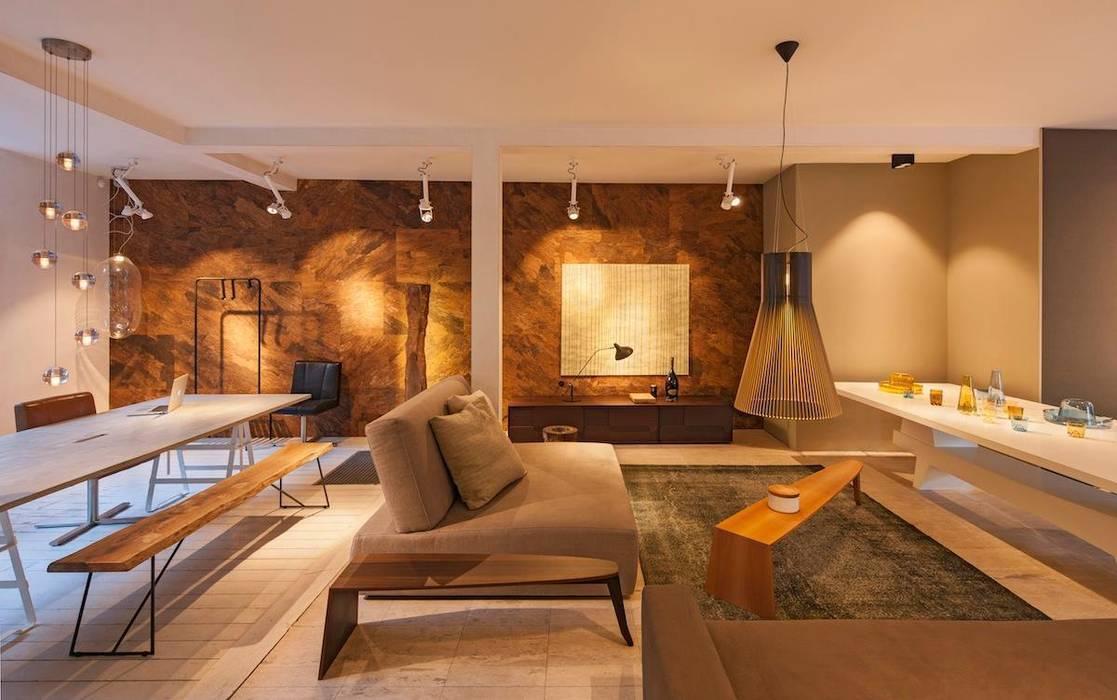Wandkurk Arabida Moderne kantoor- & winkelruimten van PuurKurk Modern