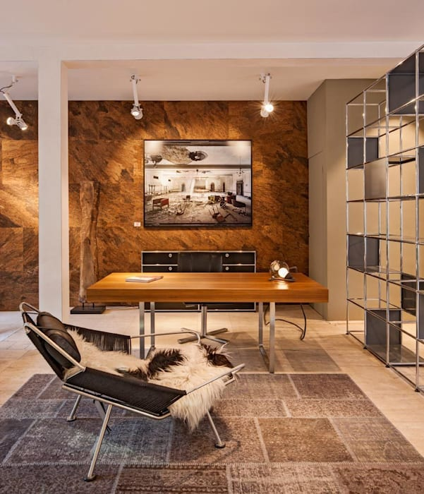 Wandkurk Arabida PuurKurk Minimalistische kantoor- & winkelruimten