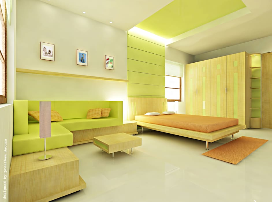 Bedroom Interiors Preetham Interior Designer Minimalist bedroom