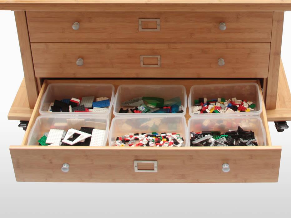 Activity Table & Toy Organiser CONSTRUCTION CENTRE par Finoak LTD Moderne