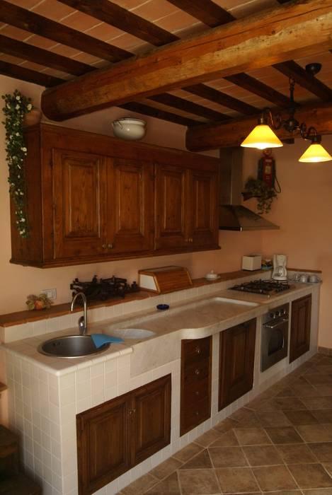 Antica filanda cucina in stile rustico di arch. fabrizio di ...