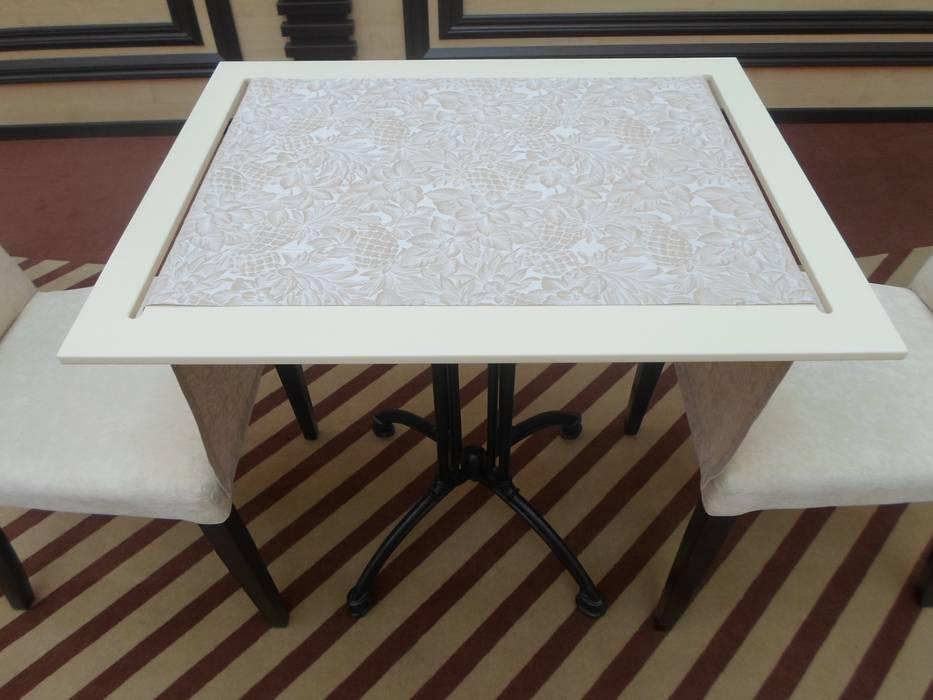 Дизайн кафе Ностальжи: Столовые комнаты в . Автор – Москоу Дизайн, Минимализм