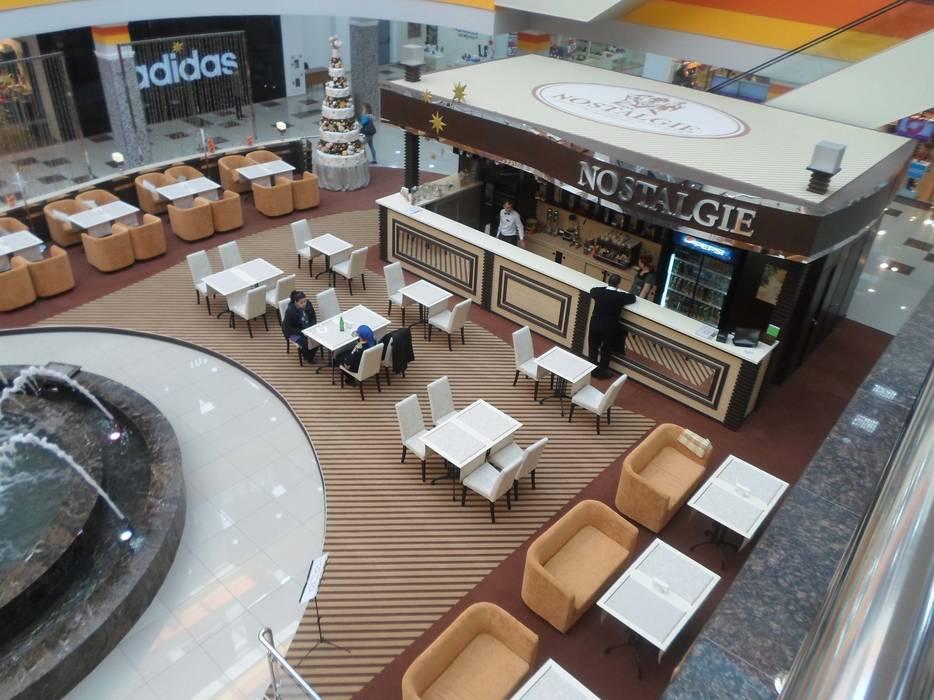Дизайн кафе Ностальжи: Столовые комнаты в . Автор – Москоу Дизайн