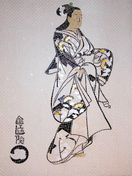 Geisha Salle de bain asiatique par atelier lilikpó Asiatique