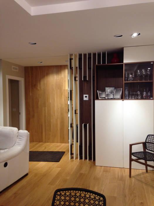 Ingresso -soggiorno soggiorno moderno di domenico lupariello ...