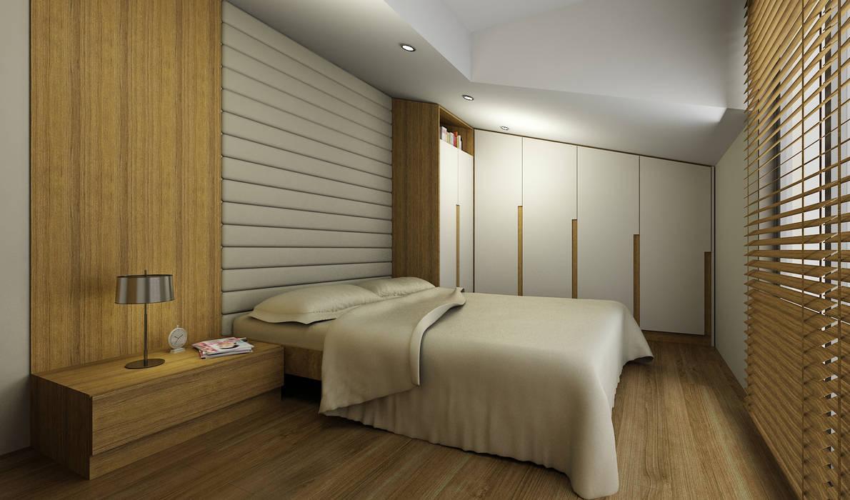 H.Y. EVİ Niyazi Özçakar İç Mimarlık Modern Yatak Odası