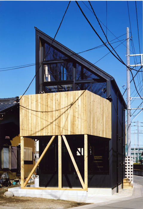 Eclectic style houses by スタジオ4設計 Eclectic