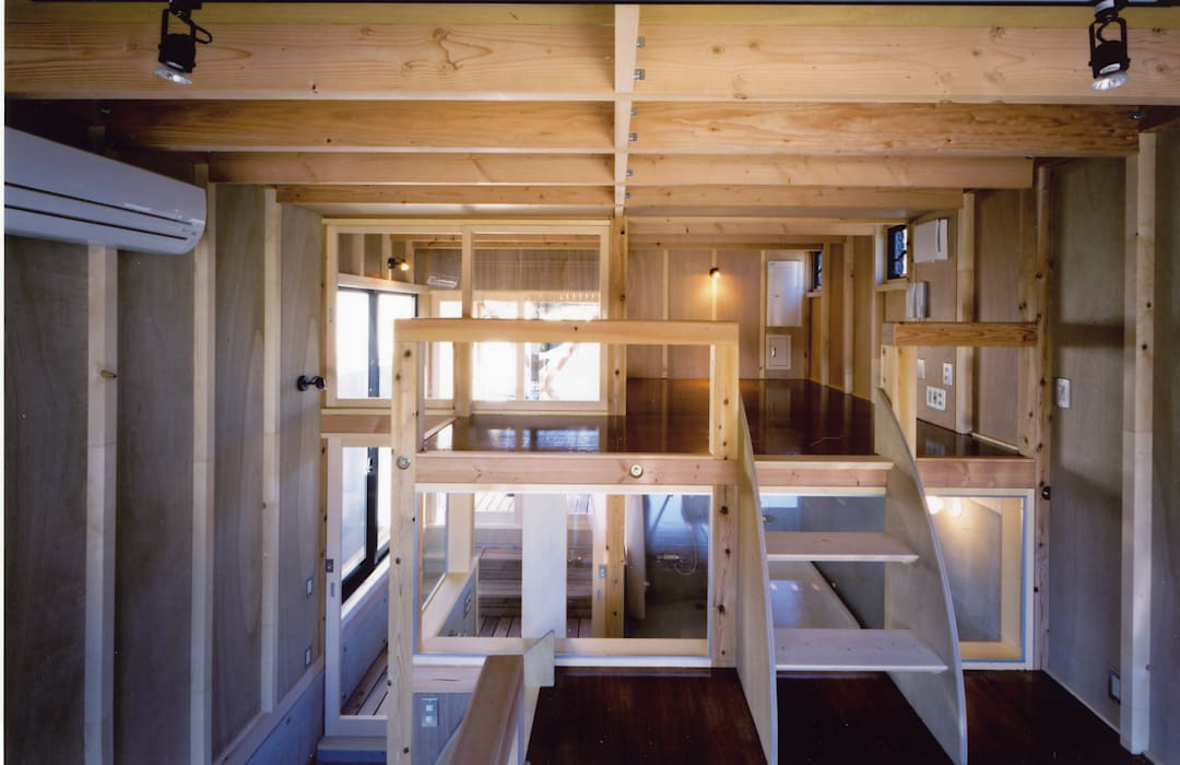 ◆寝室◆ オリジナルスタイルの 寝室 の スタジオ4設計 オリジナル
