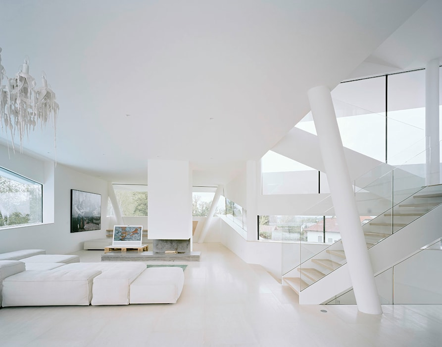 Living room by project a01 architects, ZT Gmbh, Modern