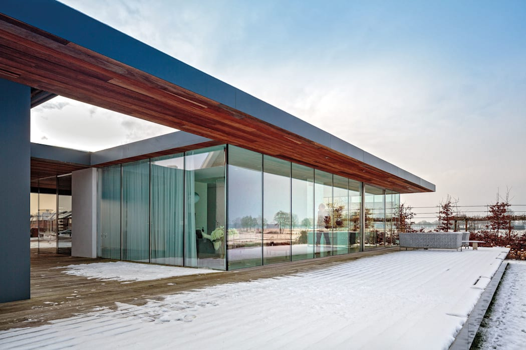 reitsema & partners architecten bna Balcon, Veranda & Terrasse modernes