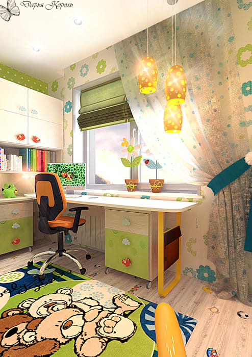 Eclectic style nursery/kids room by Your royal design Eclectic