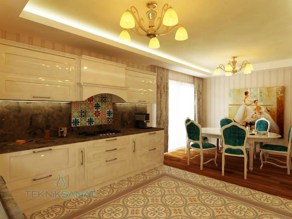 Kitchen by Teknik Sanat İç Mimarlık Renovasyon Ltd. Şti., Classic