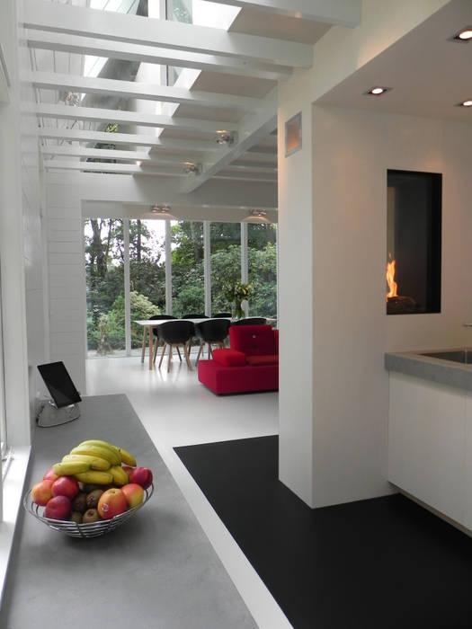 reitsema & partners architecten bna Ruang Keluarga Gaya Country