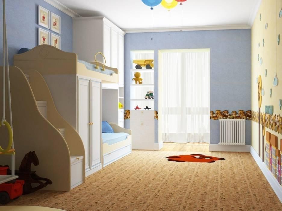 Дизайн интерьера детской  в классическом  стиле: Детские комнаты в . Автор – Альбина Романова