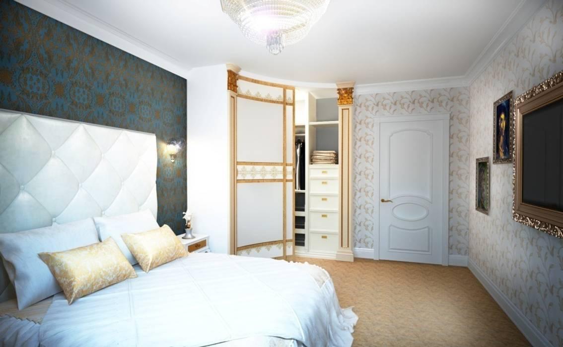 Дизайн интерьера спальни в классическом стиле Альбина Романова Спальня в классическом стиле