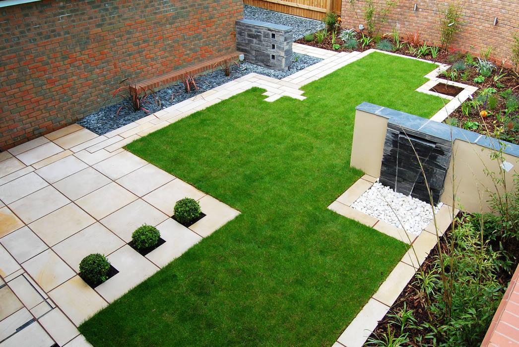 สวน โดย Robert Hughes Garden Design, โมเดิร์น