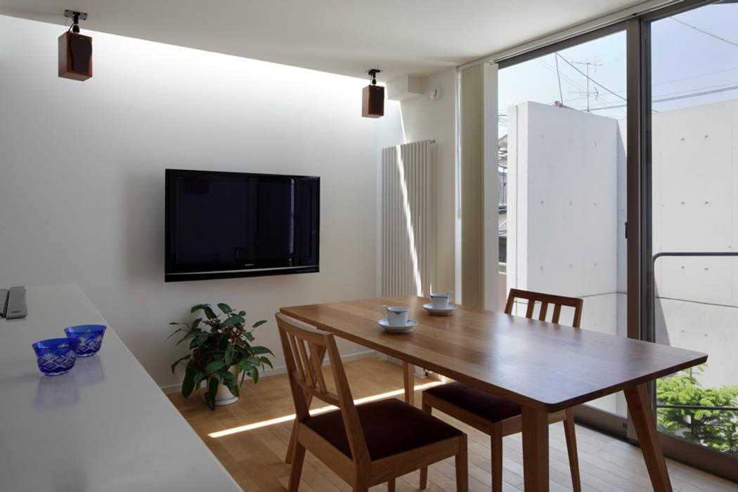 Dining room by 長浜信幸建築設計事務所, Modern