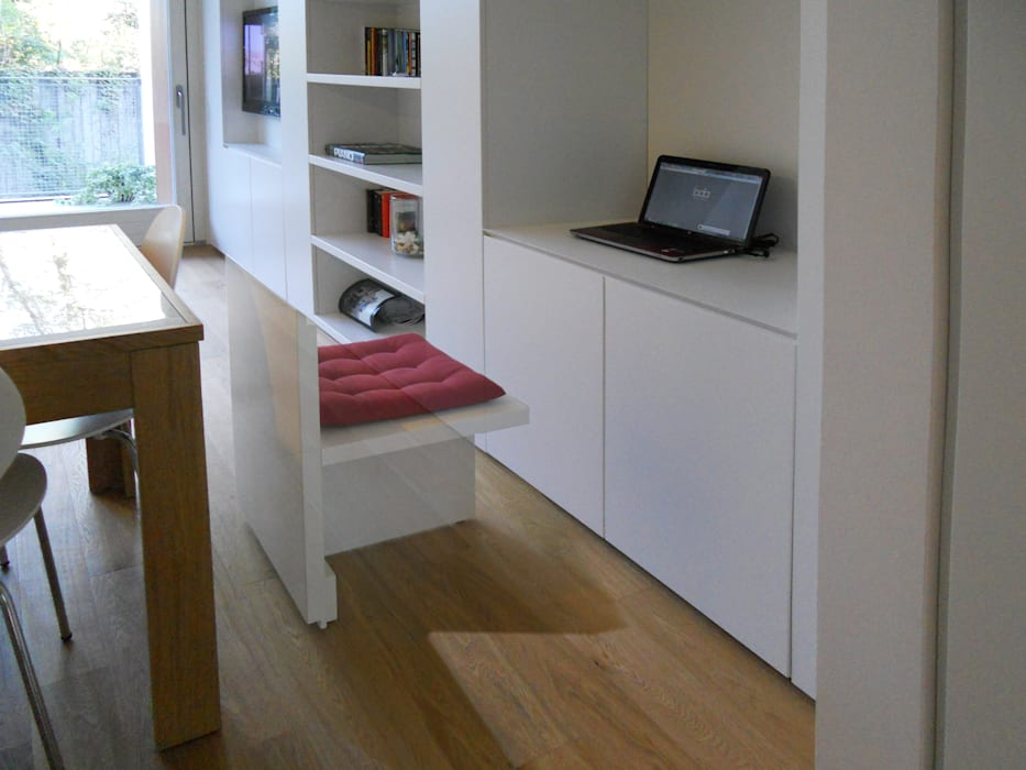 Study/office by bdastudio, Minimalist