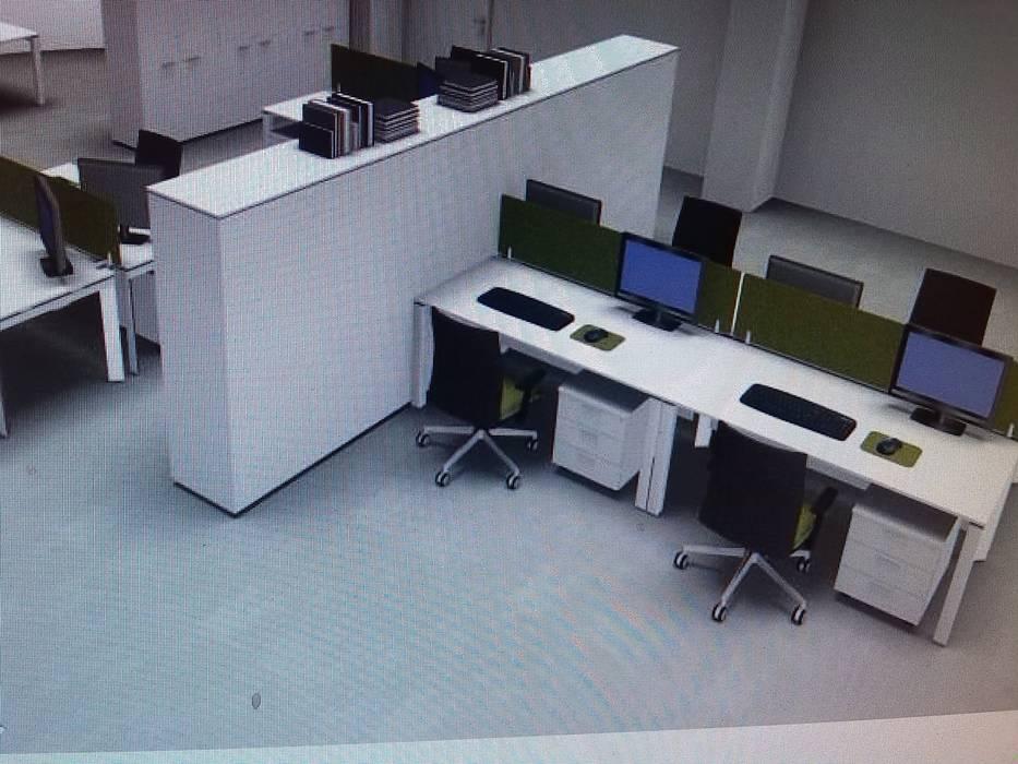 """......sala riunioni cede il posto all'ufficio """"amministrativo"""": Complessi per uffici in stile  di USER WAS DELETED!"""
