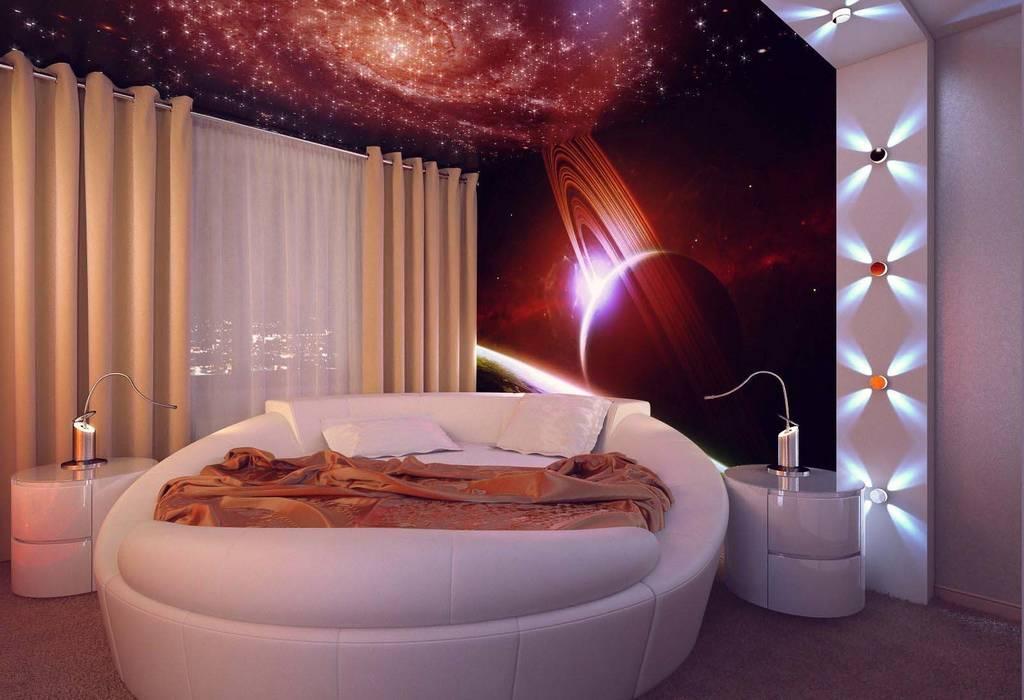Спальня Спальня в стиле минимализм от Студия дизайна интерьера 'Золотое сечение' Минимализм Пластик