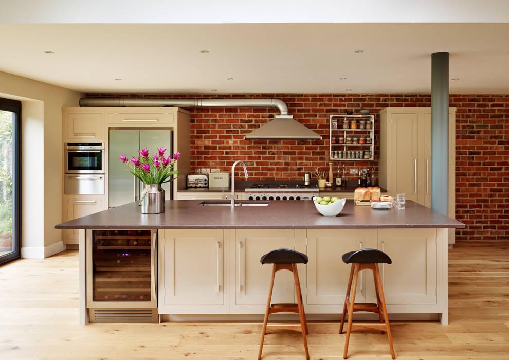 Shaker kitchen by Harvey Jones Cocinas de estilo moderno de Harvey Jones Kitchens Moderno