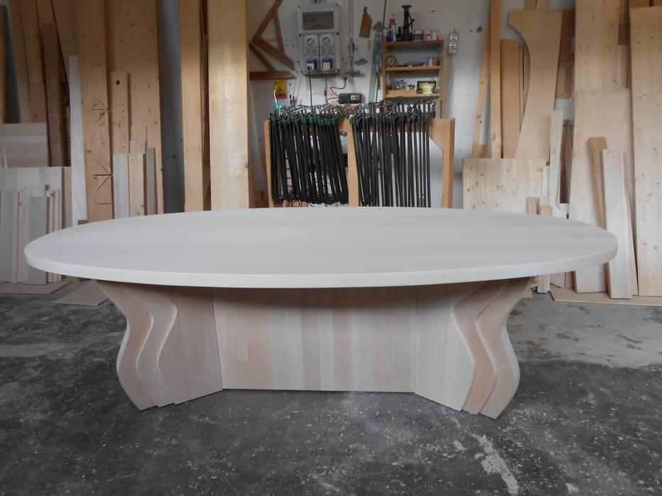 Tavolo Ovale per unione-riunione ARREDAMENTI BARALDI NATURE Studio moderno