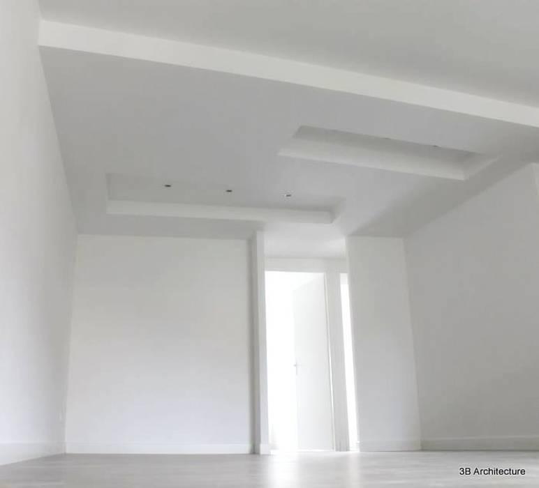 Vue du séjour Salon moderne par 3B Architecture Moderne