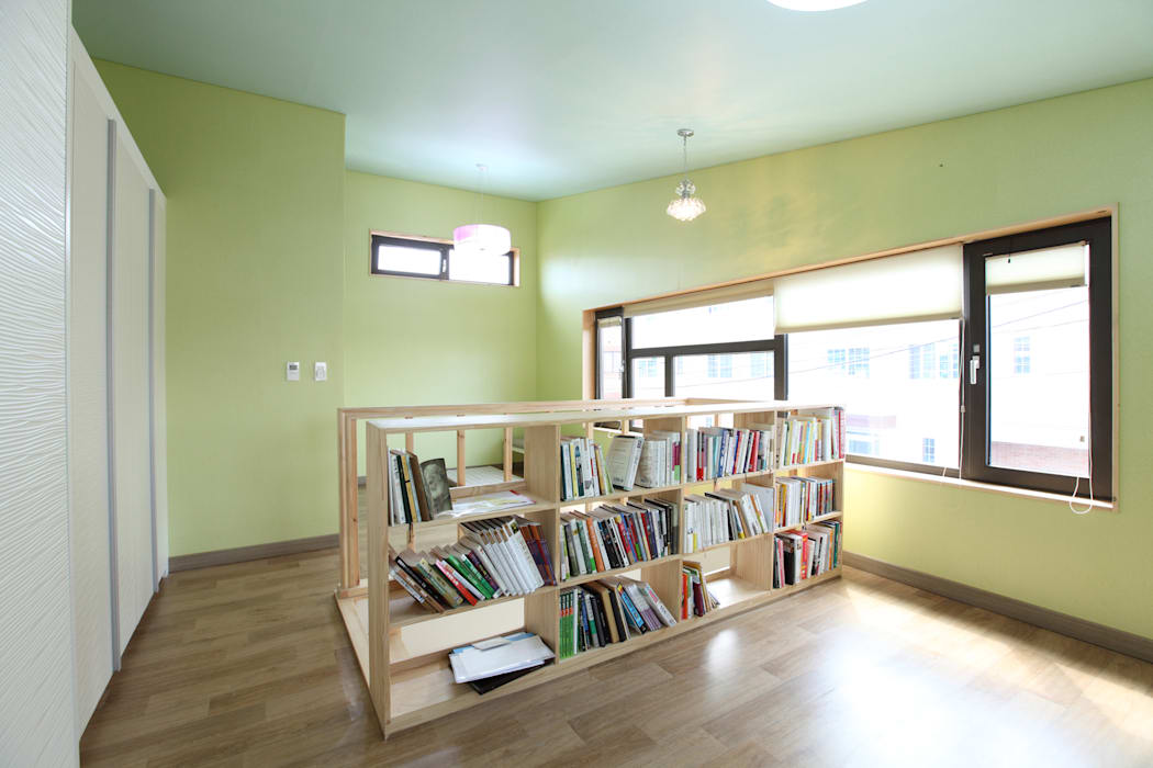2층 부부침실 모던스타일 침실 by 주택설계전문 디자인그룹 홈스타일토토 모던