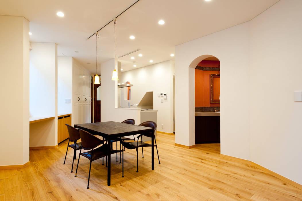 家族の集まる部屋 北欧デザインの ダイニング の アルキテク設計室 北欧
