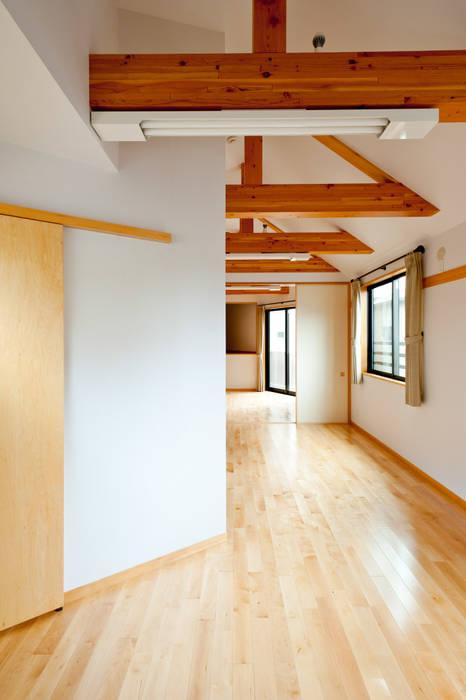 2階居室 オリジナルスタイルの 寝室 の アルキテク設計室 オリジナル