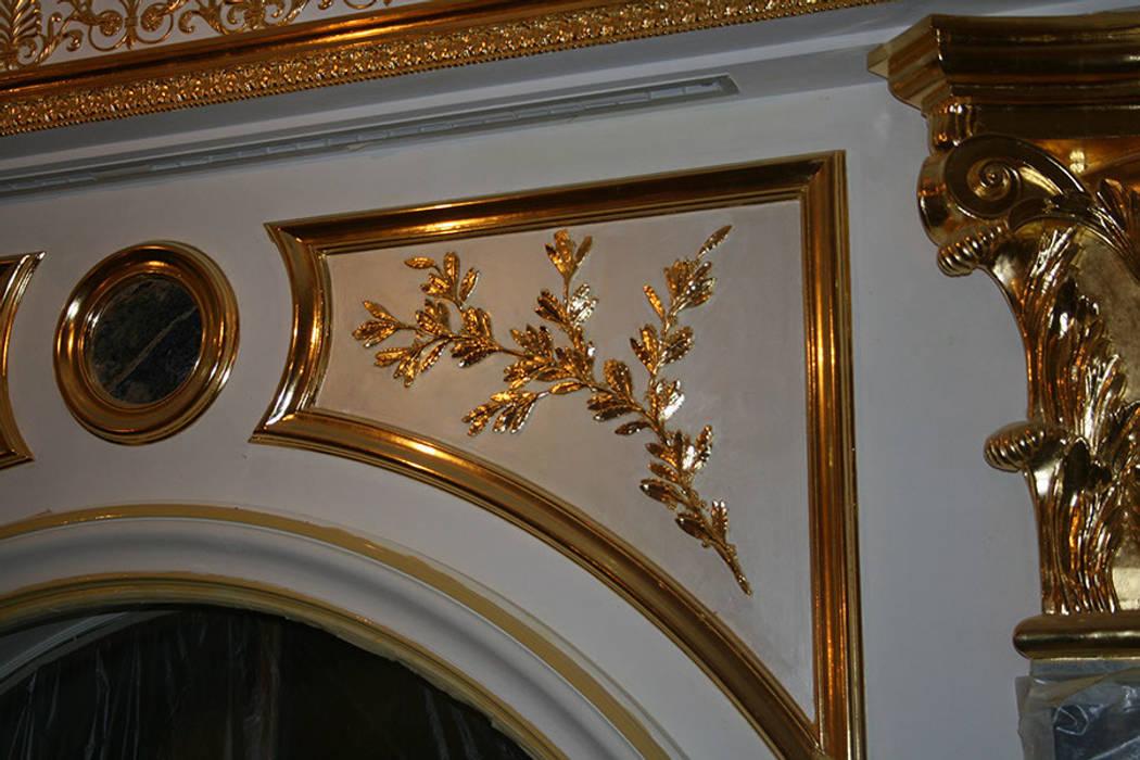Salones de estilo clásico de Абрикос Clásico