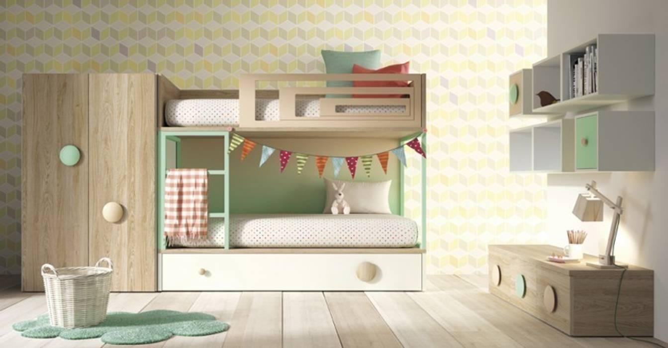 Litera Amberes Yupih Dormitorios infantiles Camas y cunas