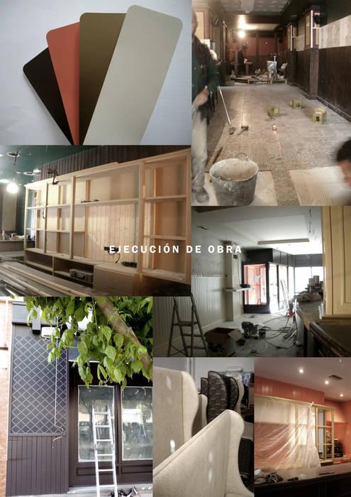Ejecución en obra.: Locales gastronómicos de estilo  de interior03