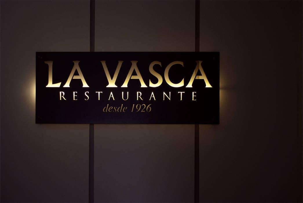 Letrero en acceso: Locales gastronómicos de estilo  de interior03