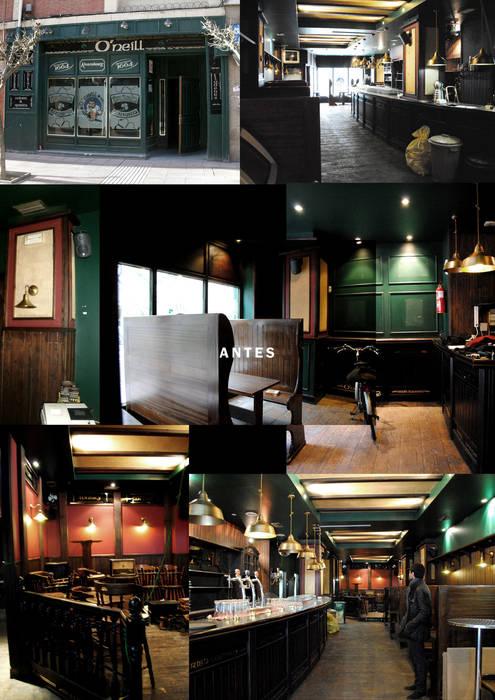 Estado previo Gastronomía de estilo moderno de interior03 Moderno