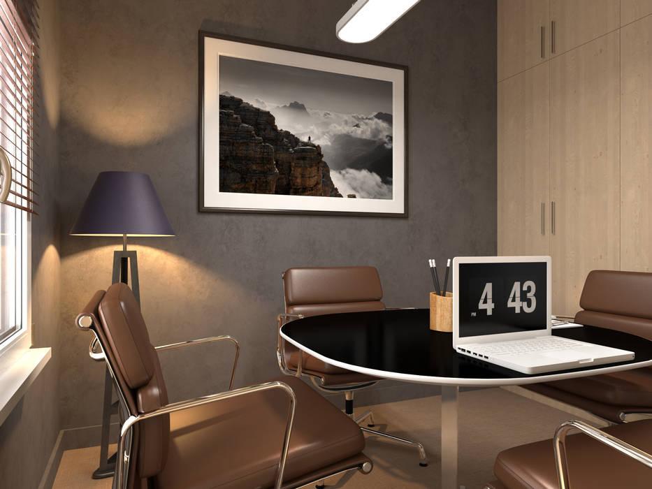 salle de reunion Bureau classique par Agence KP Classique