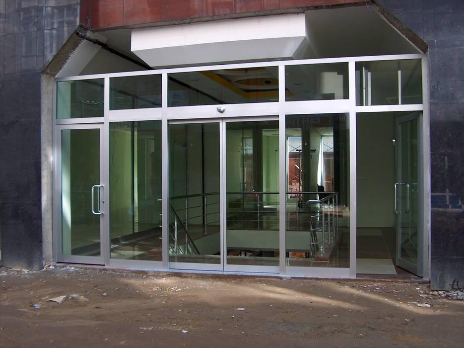 Kcc yapı dekarasyon – Fotoselli kapı:  tarz Pencere, Modern